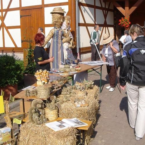 Stroh- und Getreidemarkt - 15. August 2009