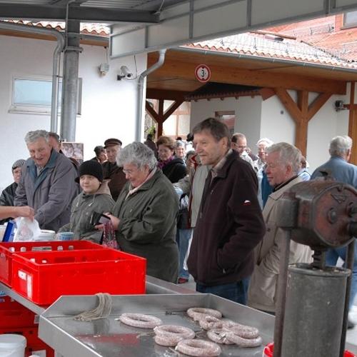 Schlachtfest - 25 Jahre Schweinemastanlage - 21.11.2009