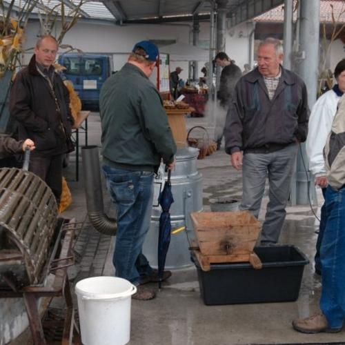 Kartoffelmarkt am 16.10.201